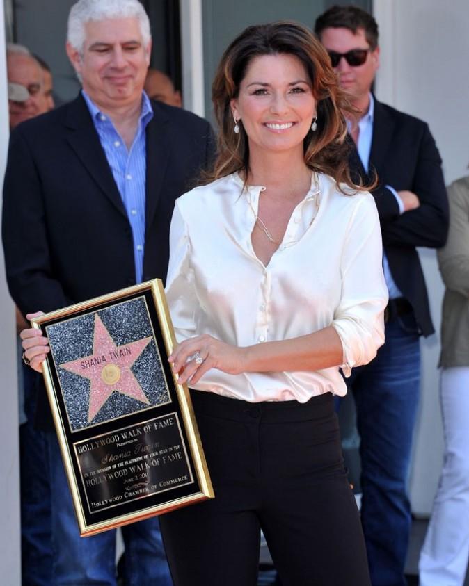 Shania reçoit la 4 442ème étoile du Walk of Fame