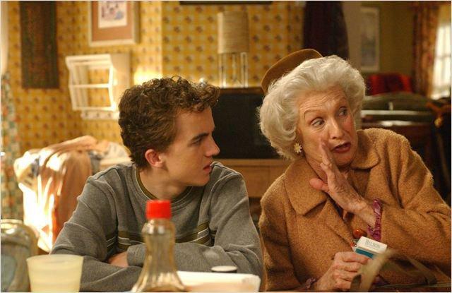 Cloris Leachman dans la série Malcolm