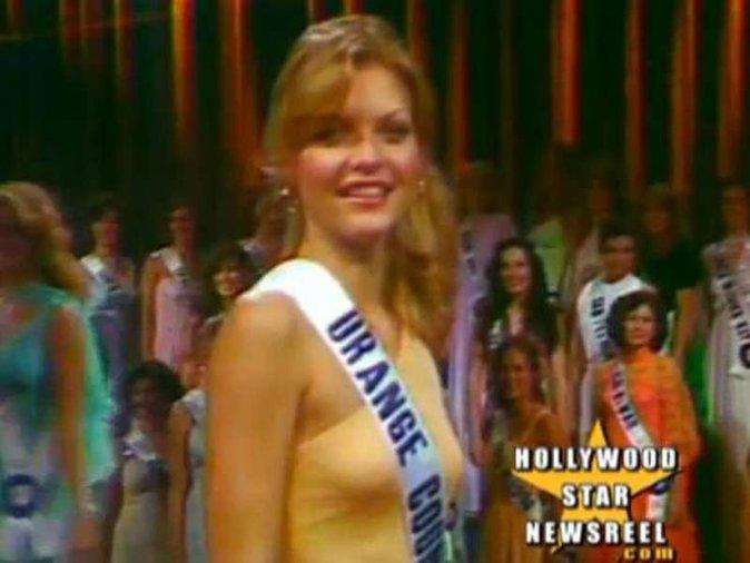 Michelle Pfeiffer couronnée Miss Orange County en 1978