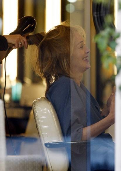 Le coiffeur, un vrai moment de détente !