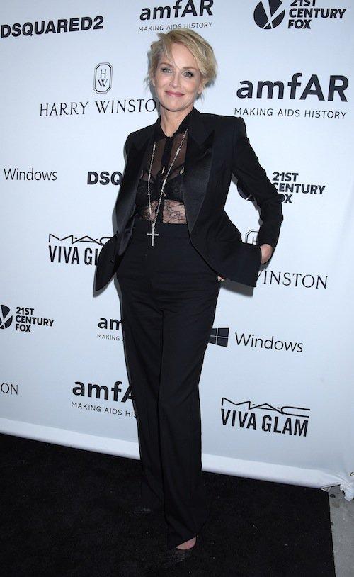 Photos : Sharon Stone toujours plus jeune et sexy !