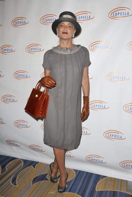 Sharon Stone lors d'une soirée à Beverly Hills, le 1er novembre 2012.