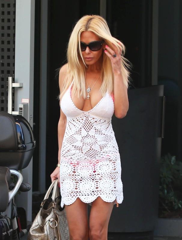 Shauna Sand à Miami, le 24 janvier 2013.