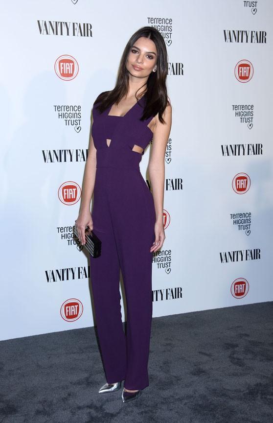 Emily Ratajkowski à Los Angeles le 17 février 2015