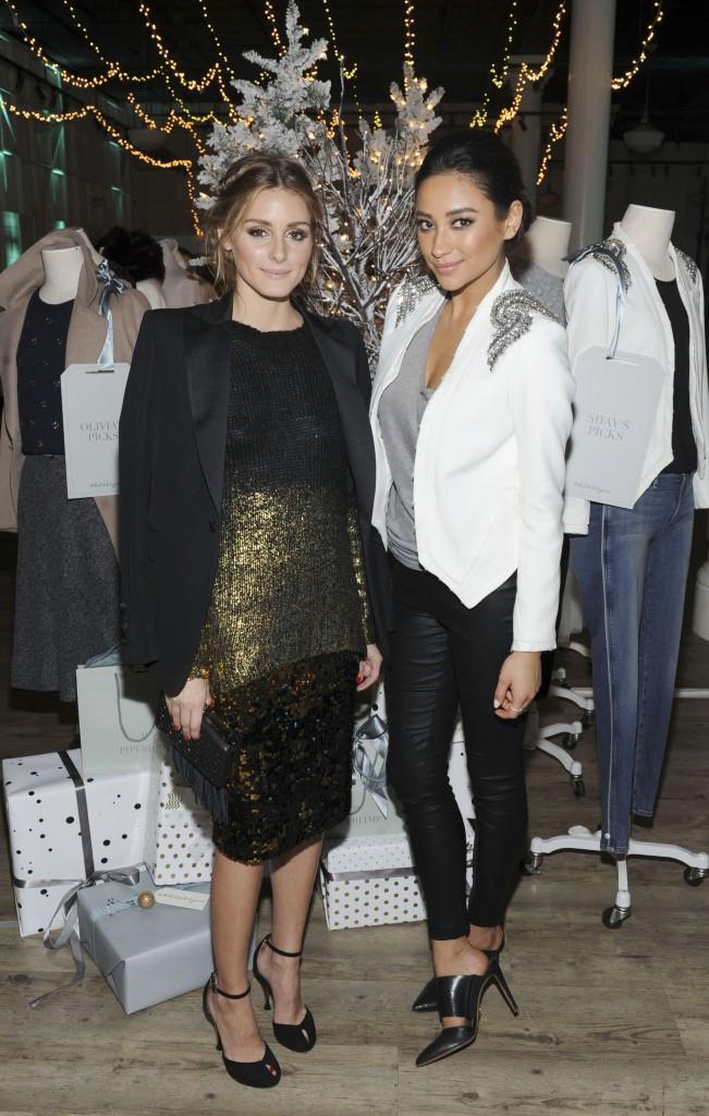 Shay Mitchell et Olivia Palermo le 10 décembre 2014