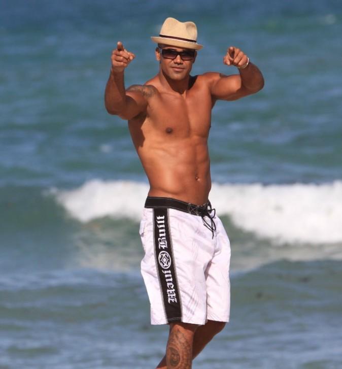Shemar Moore à Miami, 03 mai 2012.
