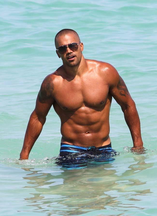 Shemar Moore le 30 juin 2012 à Miami