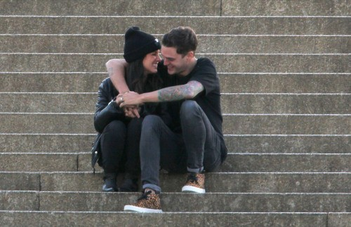 Shenae Grimes et Josh Beech, Londres, le 25 juin 2013