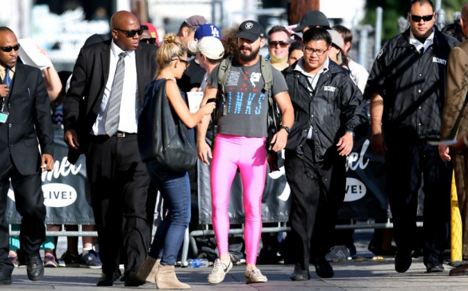 Shia Labeouf à Los Angeles le 13 octobre 2014
