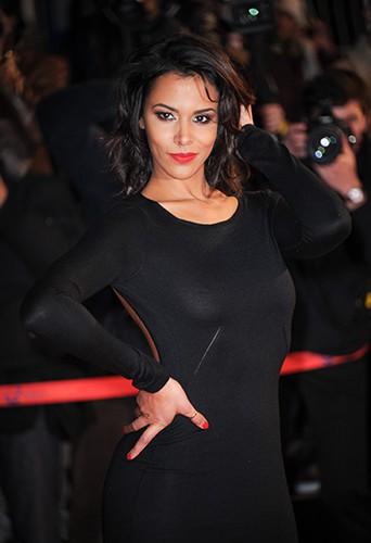 Shy'm à Cannes le 26 janvier 2013