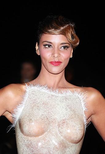 Shy'm à Cannes le 28 janvier 2012