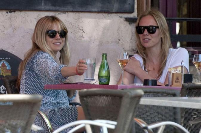 Sienna Miller à Mazan pour le mariage de Keira Knightley