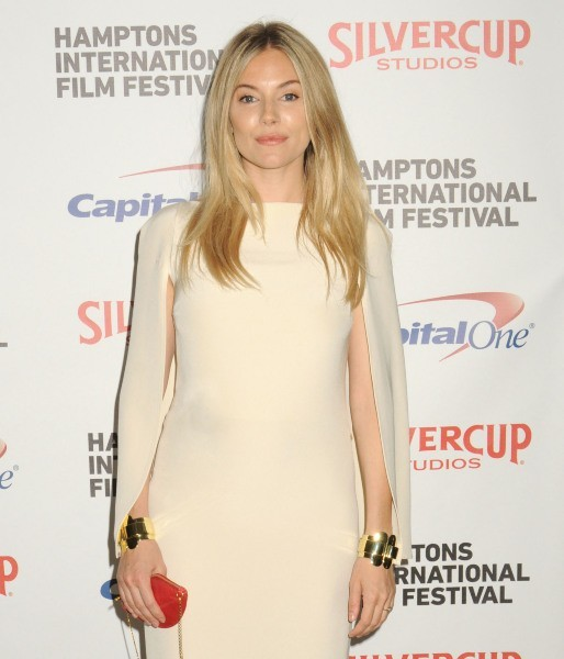 Sienna Miller lors de la réception du président du Hamptons Film Festival 2012 à New York, le 6 octobre 2012.