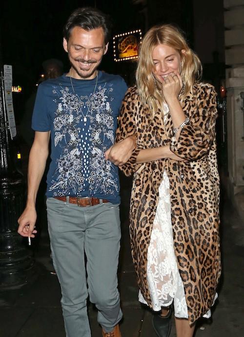 Photos : Sienna Miller : entre tigresse et princesse à Londres !