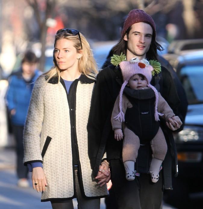 Sienna Miller, Tom Sturridge et leur fille