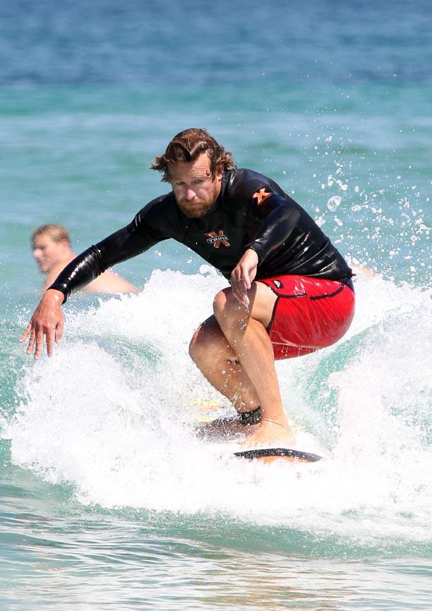 Simon Baker à Sydney le 9 mars 2015