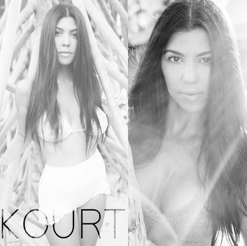 "Photos : ""so sexy"", Kourtney Kardashian se met enfin au niveau de ses sœurs !"