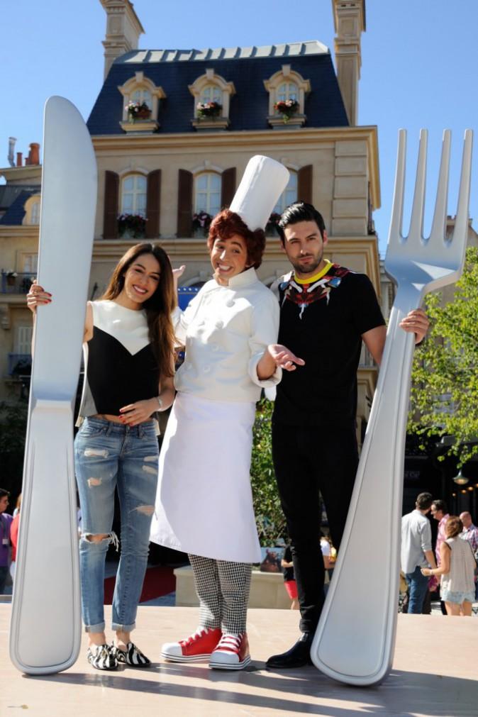 Photos : Sofia Essaidi : glamour à souhait aux côtés de son homme à Disney !
