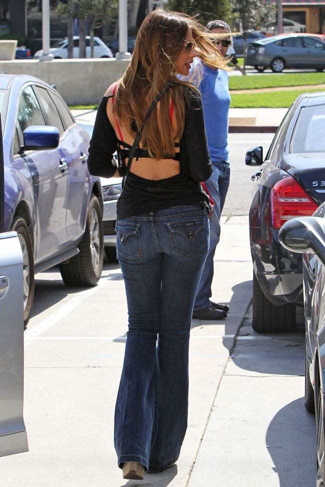 Sofia Vergara le 7 octobre 2012 à Los Angeles