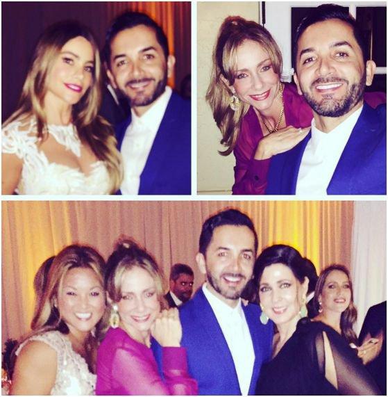 Photos : Sofia Vergara et Joe Manganiello : amis et famille réunis pour festoyer avant le mariage !