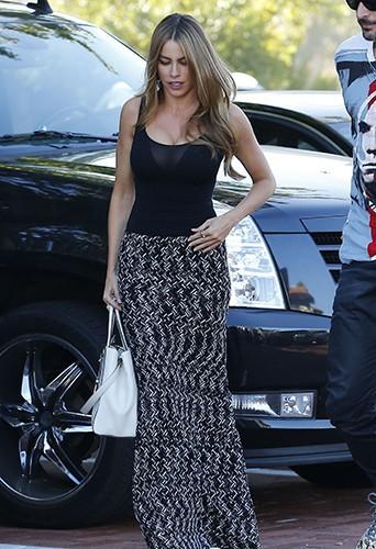 Sofia Vergara à Los Angeles le 23 août 2014