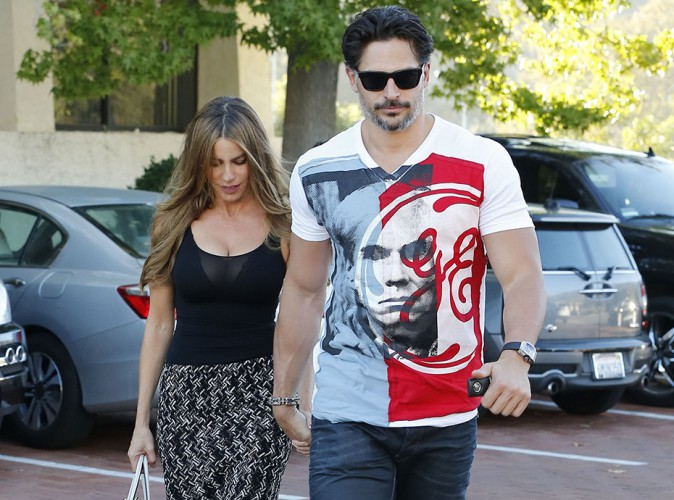 Sofia Vergara et Joe Manganiello à Los Angeles le 23 août 2014