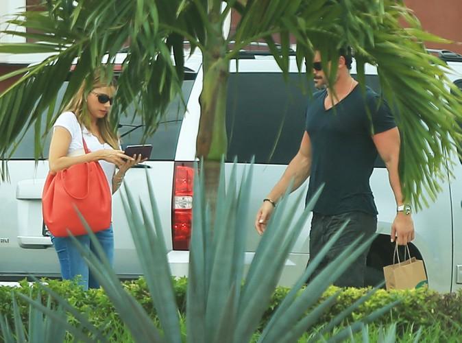 Sofia Vergara et Joe Manganiello à Cabo San Lucas le 1er septembre 2014