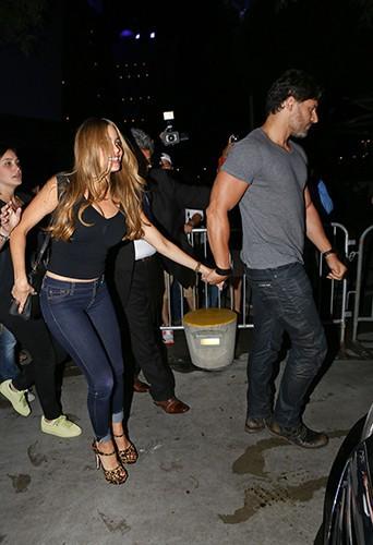 Sofia Vergara et Joe Manganiello à Los Angeles le 12 août 2014