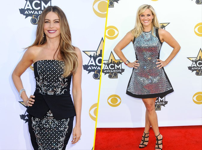 Photos : Sofia Vergara et Reese Witherspoon : plus complices que jamais aux ACM Awards !