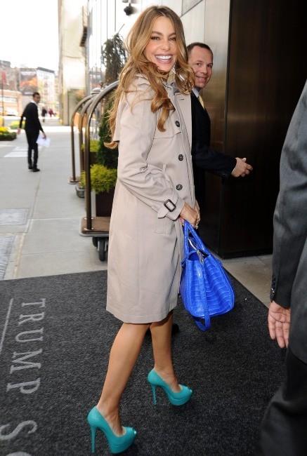 Glamour ou pas les escarpins turquoise ?