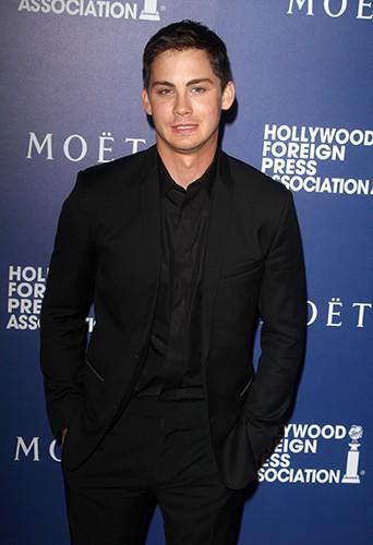Logan Lerman à Los Angeles le 14 août 2014