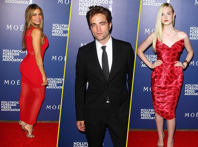 Photos : Sofia Vergara, Robert Pattinson, Elle Fanning : du très beau monde aux HFPA Grants Banquet !