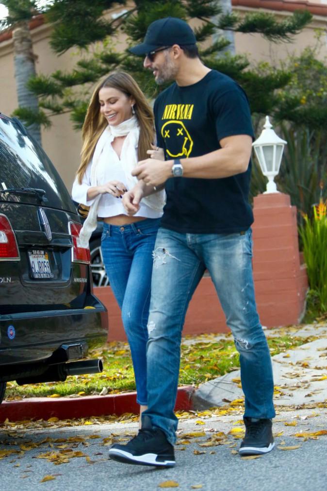 Sofia Vergara et Joe Manganiello le 18 janvier 2015