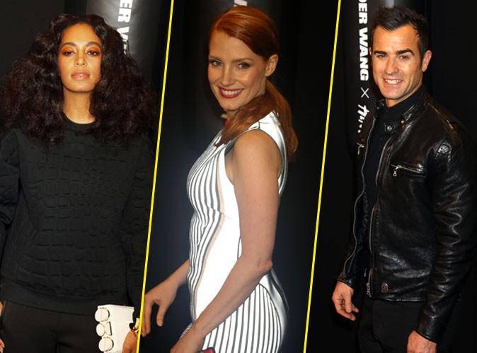 Photos : Solange Knowles, Jessica Chastain, Justin Theroux : ils craquent tous pour Alexander Wang x H&M !