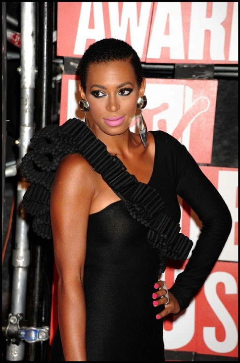 Solange Knowles aux MTV Video Music Awards à New York, le 13 septembre 2009.