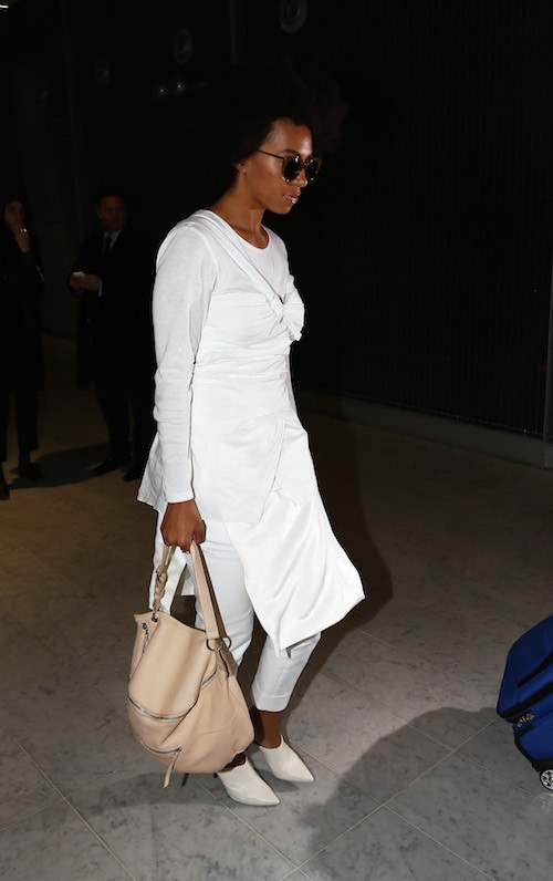 Photos : Solange Knowles : prête pour la Fashion Week de Paris !