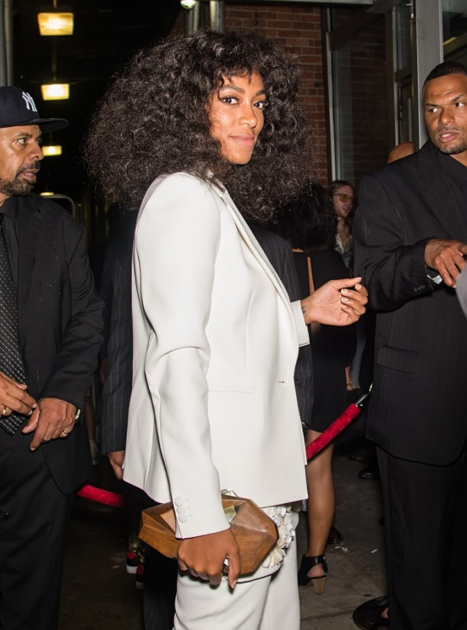 Solange Knowles à New York le 11 septembre 2015