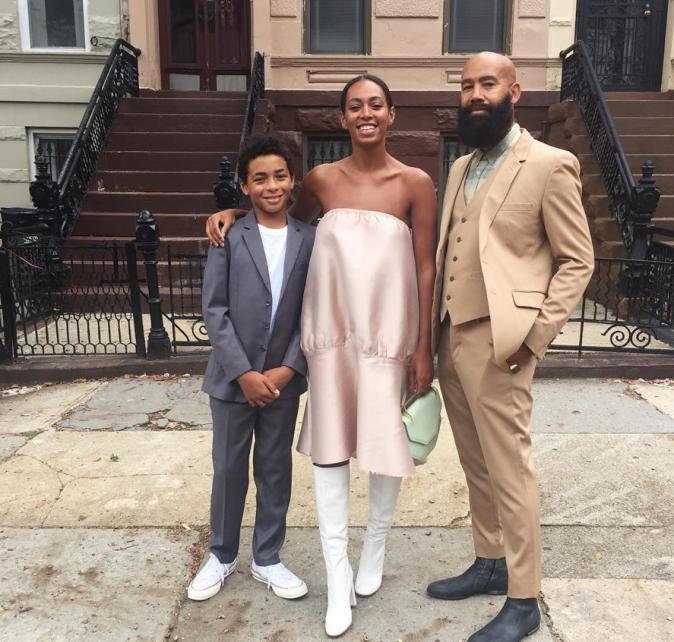 Photos : Solange Knowles : tantôt Djette concentrée, tantôt maman comblée !