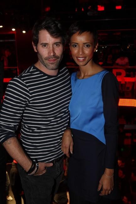 Sonia Rolland et Jalil Lespert au VIP Room Theater à Paris, le 17 novembre 2011.