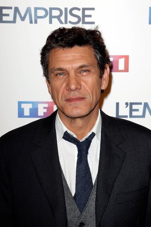 Marc Lavoine lors de la projection de l'Emprise, le 21 janvier 2015