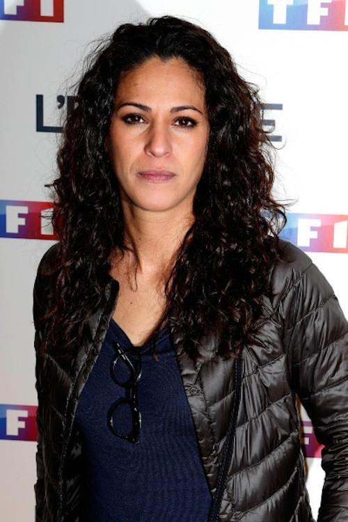 Samira Lachaab lors de la projection de l'Emprise, le 21 janvier 2015