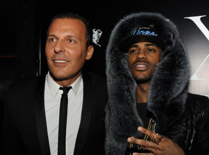 Jean-Roch et Big Sean lors de la Ciroc Party au VIP Room Theater, le 6 mars 2012.