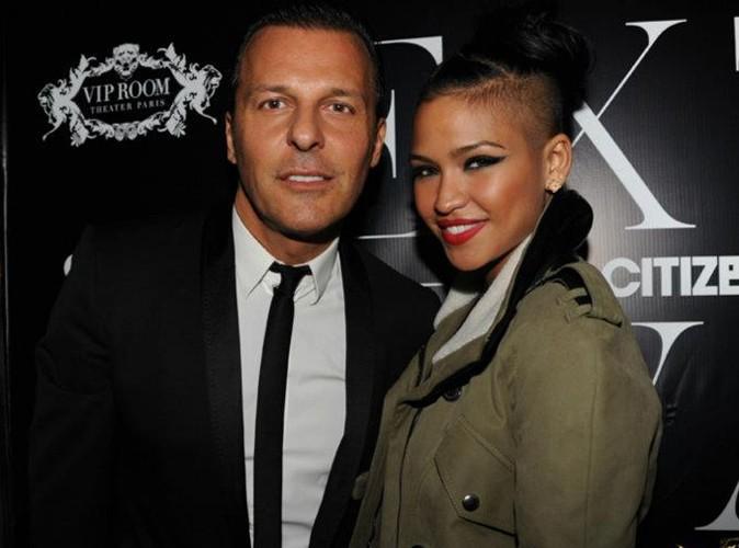 Jean-Roch et Cassie lors de la Ciroc Party au VIP Room Theater, le 6 mars 2012.