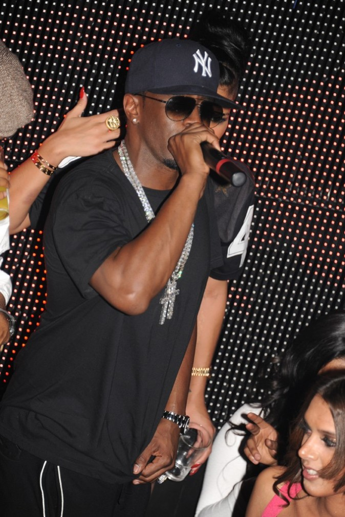 P.Diddy au VIP Room Theater, le 6 mars 2012.