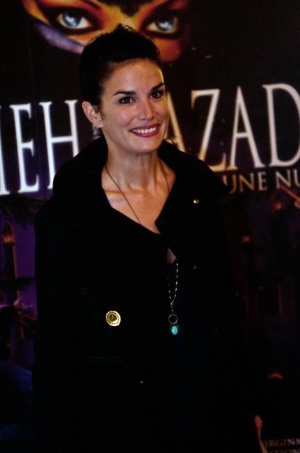 Barbara Cabrita lors de la première de Shéhérazade - Les Mille et une Nuits, le 6 décembre à Paris.