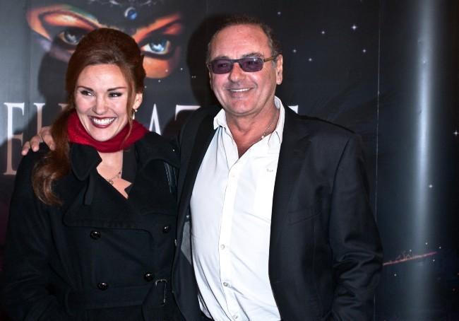 Gerard Presgurvic et sa fille Laura lors de la première de Shéhérazade - Les Mille et une Nuits, le 6 décembre à Paris.