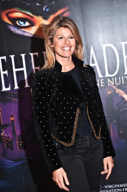 Lynda Lacoste lors de la première de Shéhérazade - Les Mille et une Nuits, le 6 décembre à Paris.