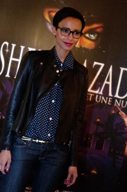 Sonia Rolland lors de la première de Shéhérazade - Les Mille et une Nuits, le 6 décembre à Paris.