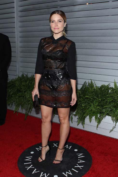 Sophia Bush à la soirée organisée par le magazine Maxim à Los Angeles le 10 juin 2014