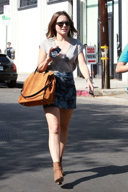 Sophia Bush à Los Angeles, le 9 août 2012.